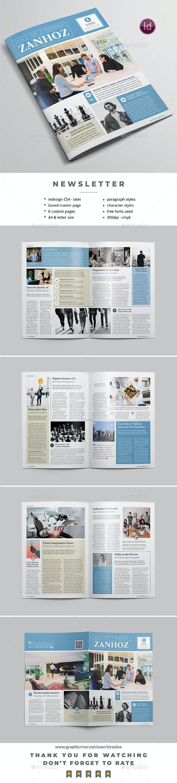 Multipurpose Newsletter v.10 - Newsletters Print Templates