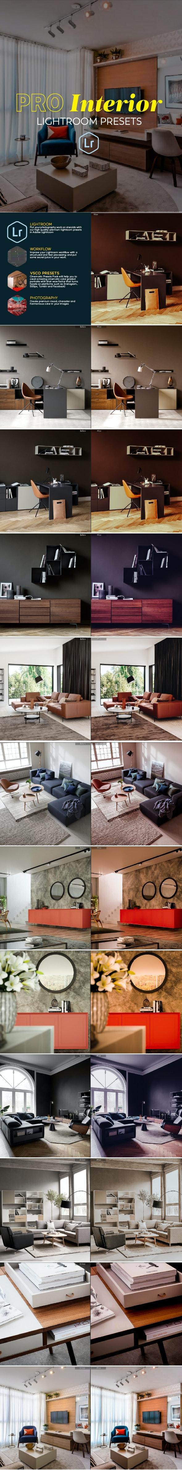 Pro Interior Lightroom Presets - Lightroom Presets Add-ons