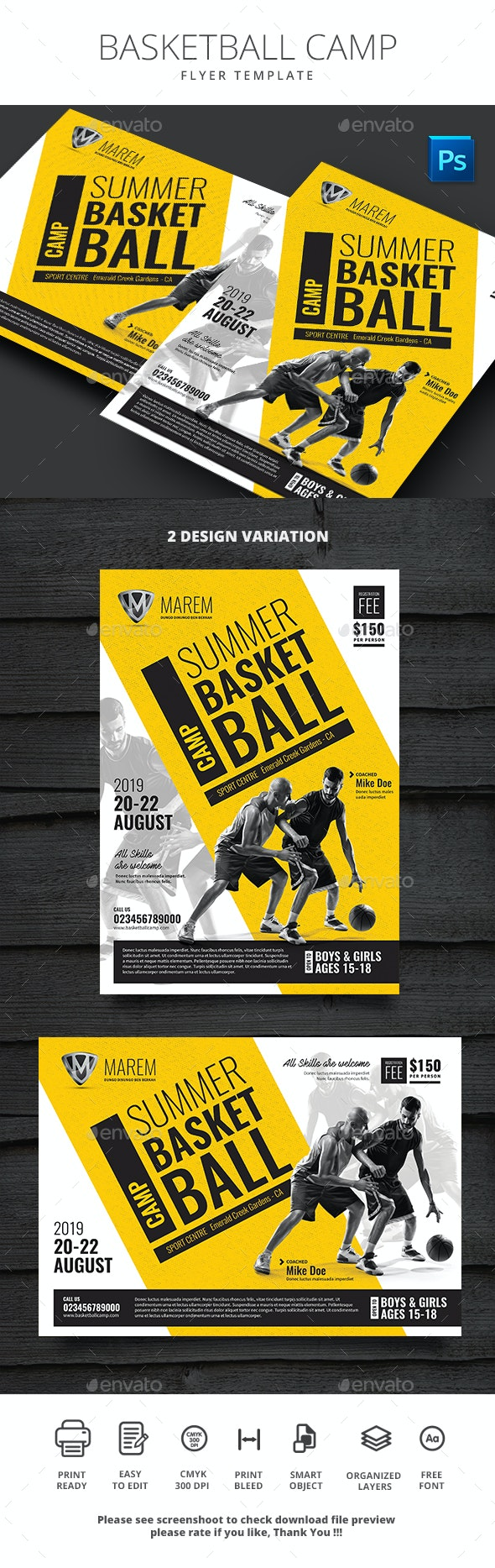 Basketball Camp - Sports Events