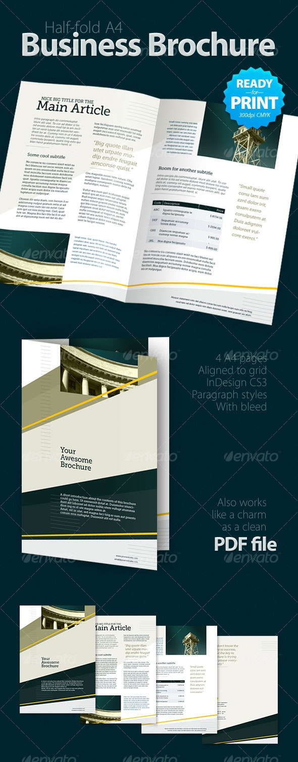 Business Brochure (4 pages) - Corporate Brochures