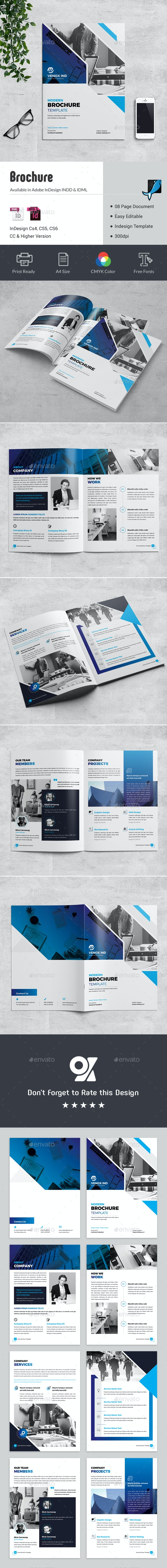 08 Pages Brochure - Corporate Brochures
