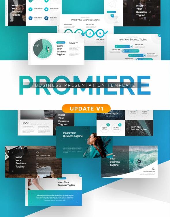 Promiere Business Presentation Template - Business PowerPoint Templates