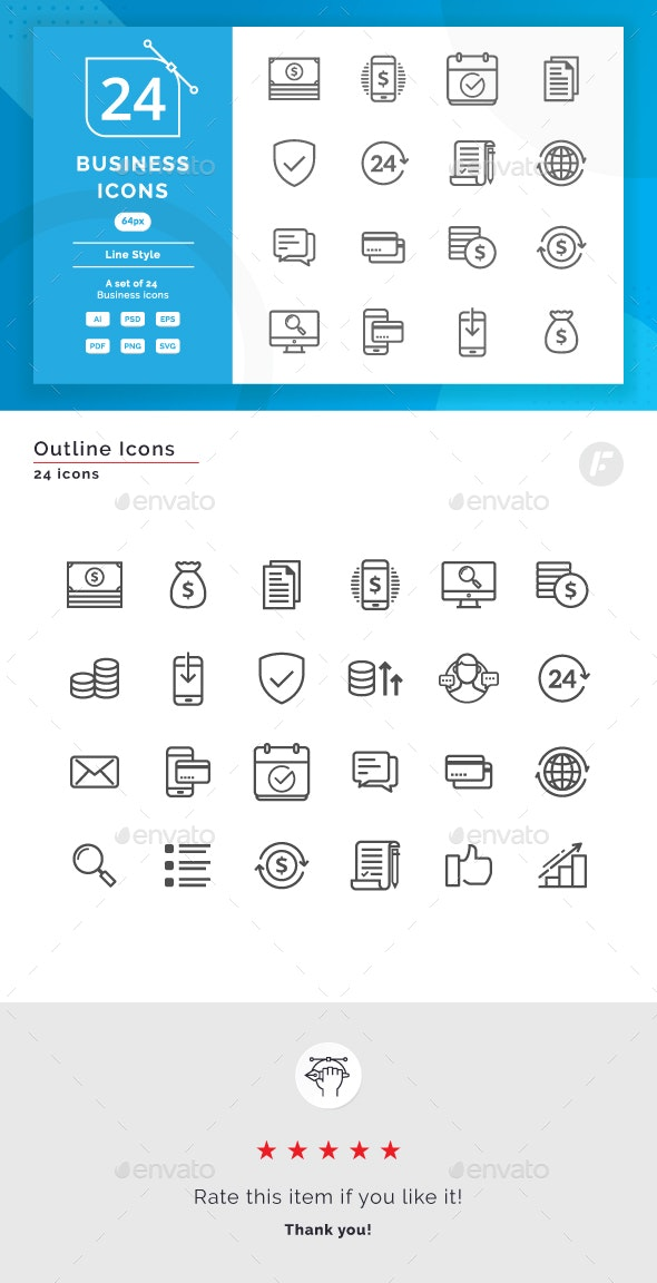 Business Icons - Miscellaneous Characters