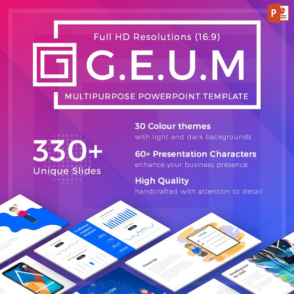 Geum – Multipurpose PowerPoint Template - PowerPoint Templates Presentation Templates