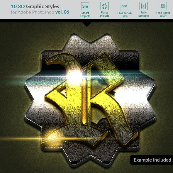 10 3D Styles vol. 06