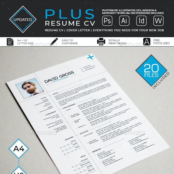 Resume/CV - Plus