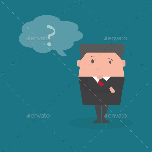 Businessman Thinking Idea - Concepts Business