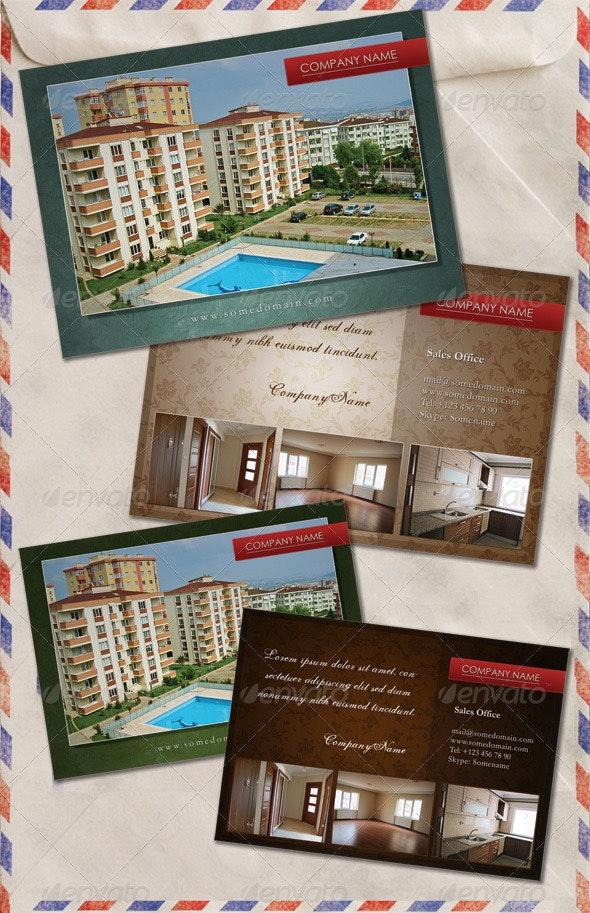Real Estate Agent PostCard - Miscellaneous Print Templates