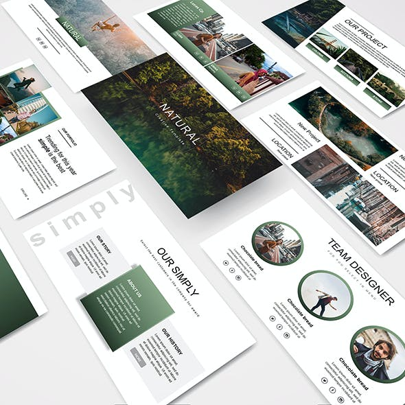 Natural - Creative Powerpoint Template