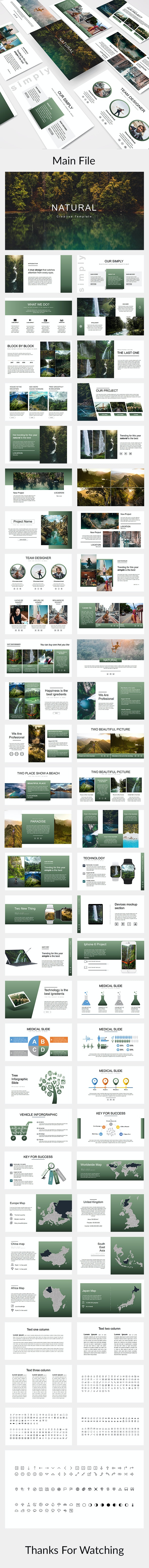 Natural - Creative Powerpoint Template - Creative PowerPoint Templates