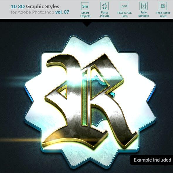 10 3D Styles vol. 07