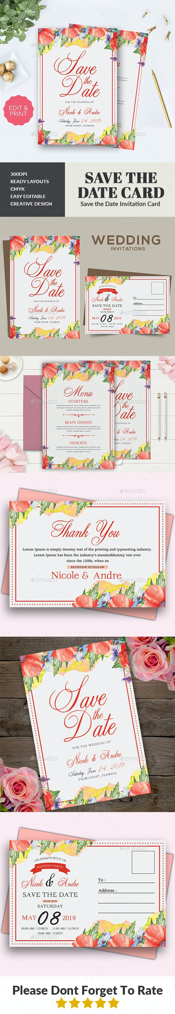 Wedding Invitation - Weddings Cards & Invites