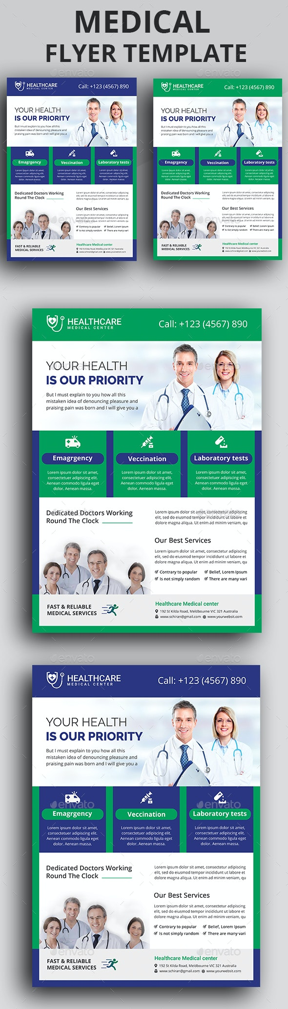 Medical Flyer - Commerce Flyers