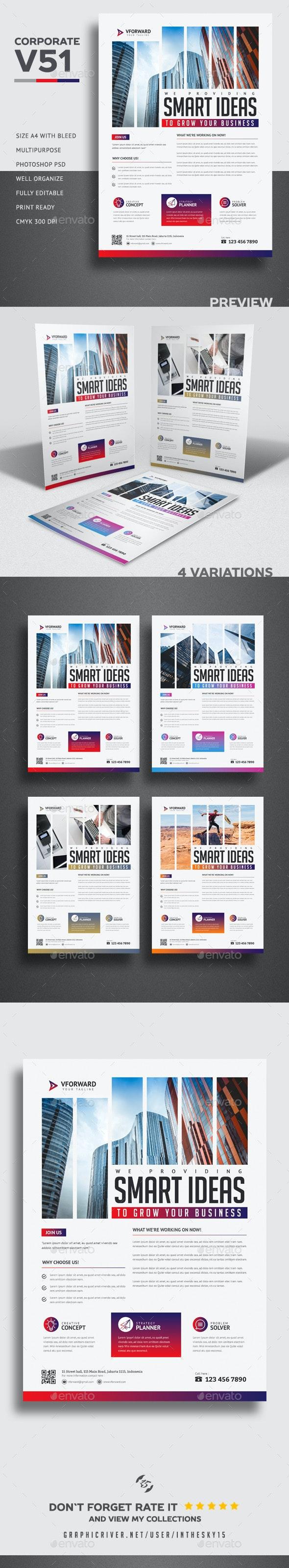 Corporate V51 Flyer - Corporate Brochures