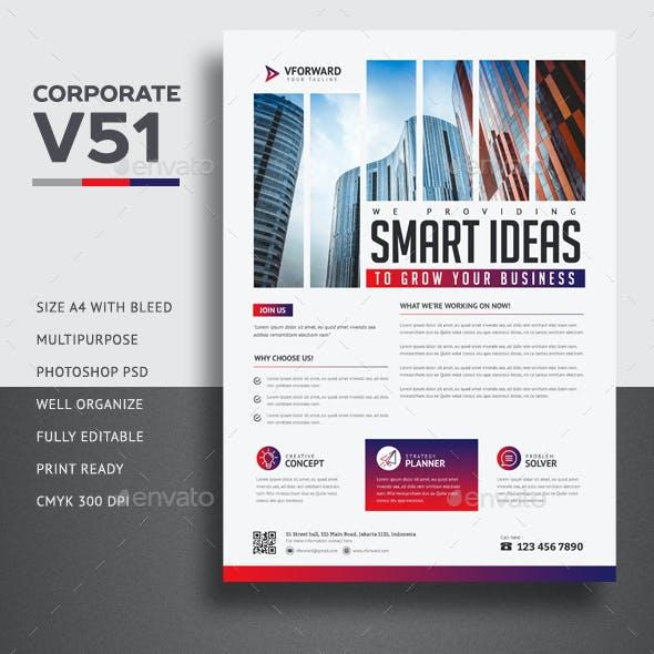 Corporate V51 Flyer