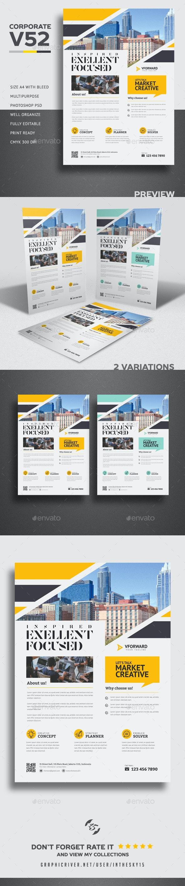 Corporate V52 Flyer - Corporate Brochures