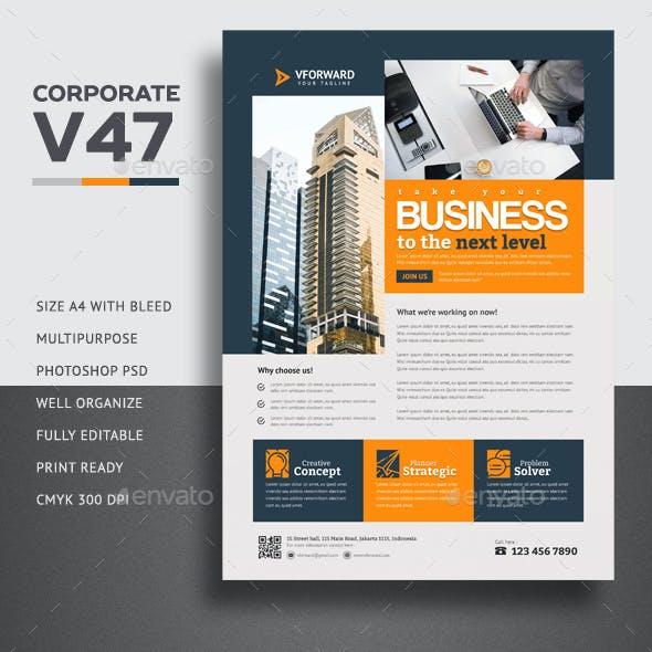 Corporate V47 Flyer