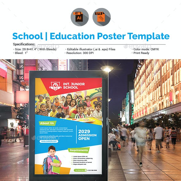 Education Promotion Poster