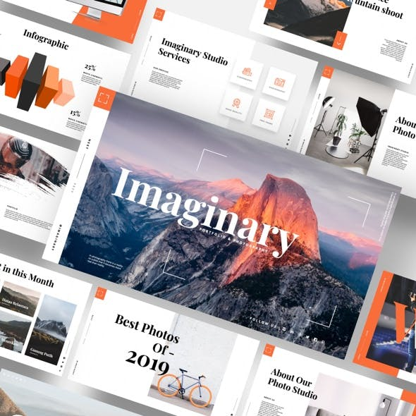 Imaginary - Portfolio & Photography Powerpoint Template