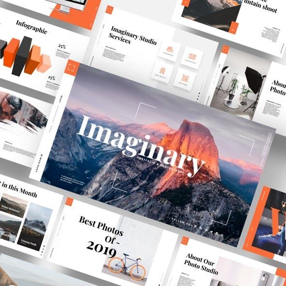 Imaginary - Portfolio & Photography Powerpoint Template