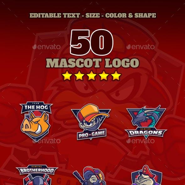 50 Mascot Emblems