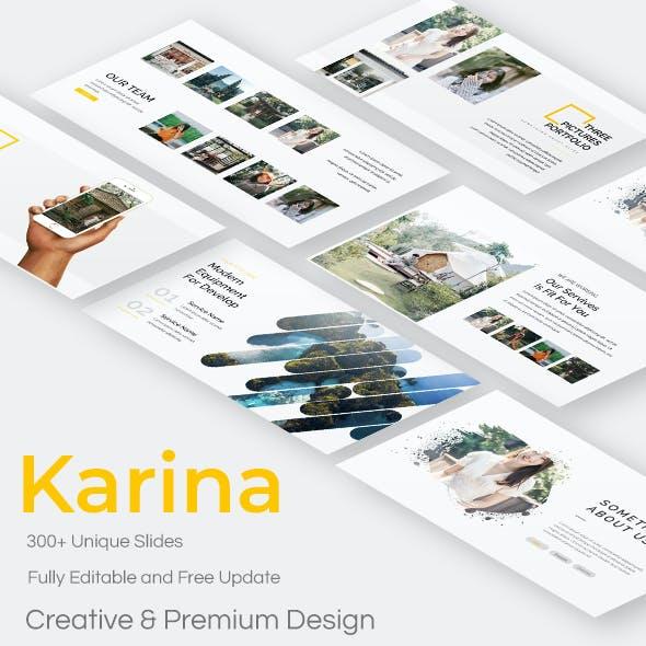 Karina Creative Powerpoint Template
