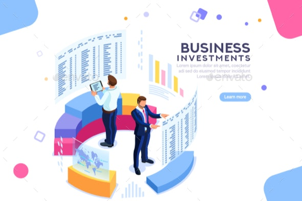 Strategy Analytics a Financial Banner - Concepts Business