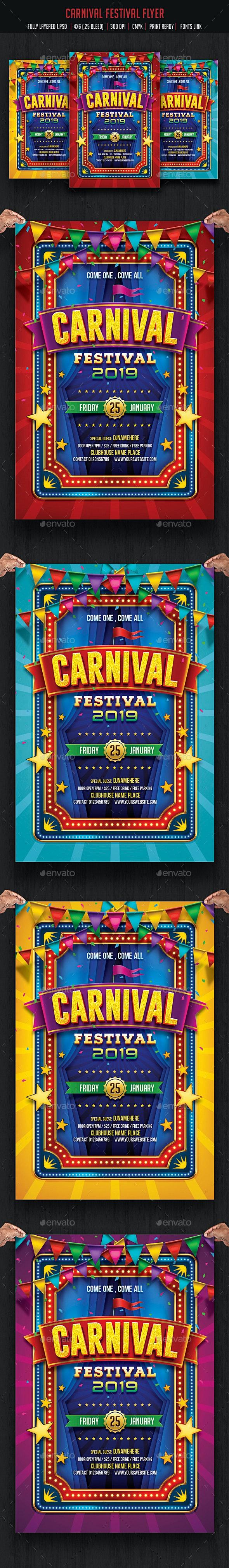 Carnival & Fun Fair Flyer - Events Flyers