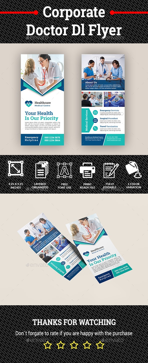 Corporate Doctor Dl Flyer - Corporate Flyers