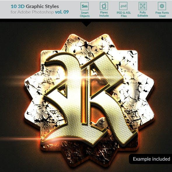 10 3D Styles vol. 09