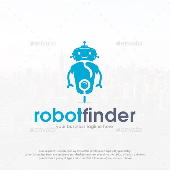 Robot Finder Logo Template