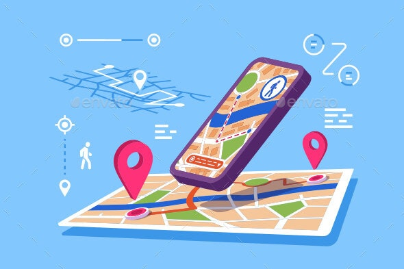 Location Maps Online Application - Communications Technology