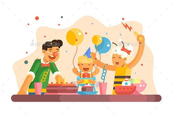 Children Party - Birthdays Seasons/Holidays