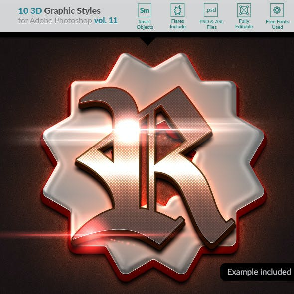 10 3D Styles vol. 11