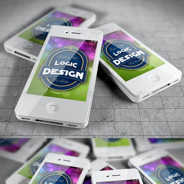 Smart Phones Mock Up