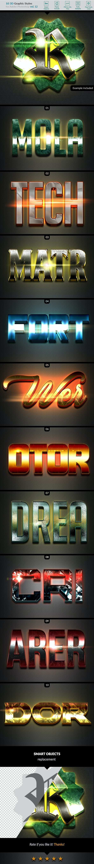 10 3D Styles vol. 12 - Styles Photoshop