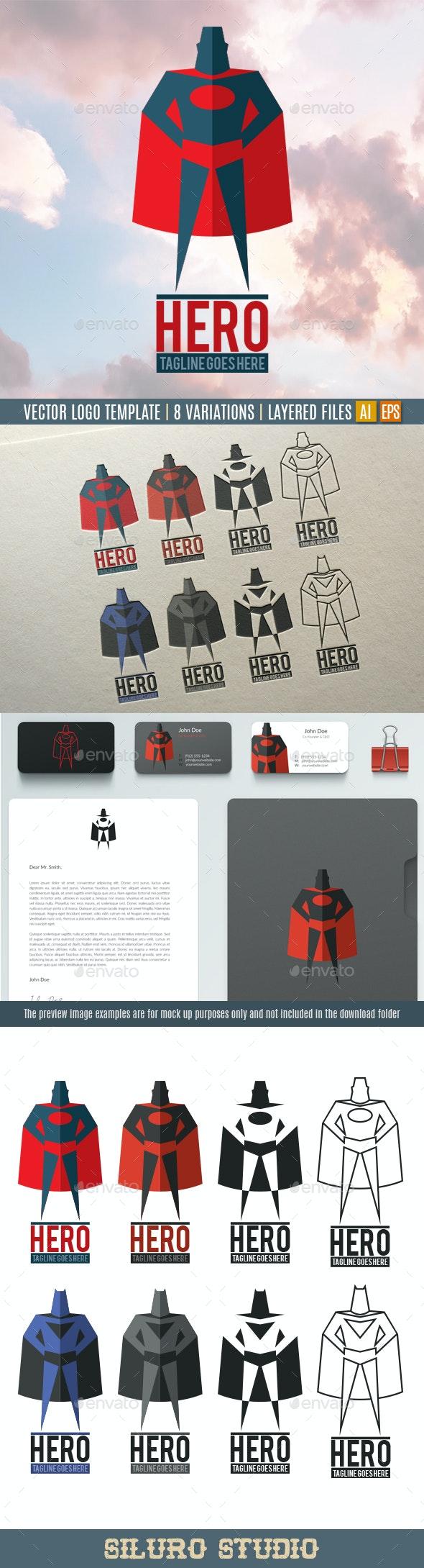 Hero Logo - Humans Logo Templates
