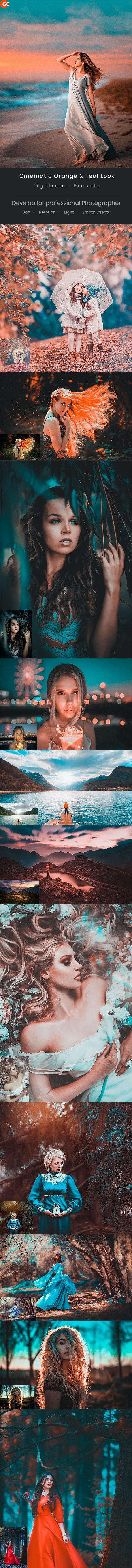 Cinematic Orange & Teal Look Lightroom Preset - Cinematic Lightroom Presets
