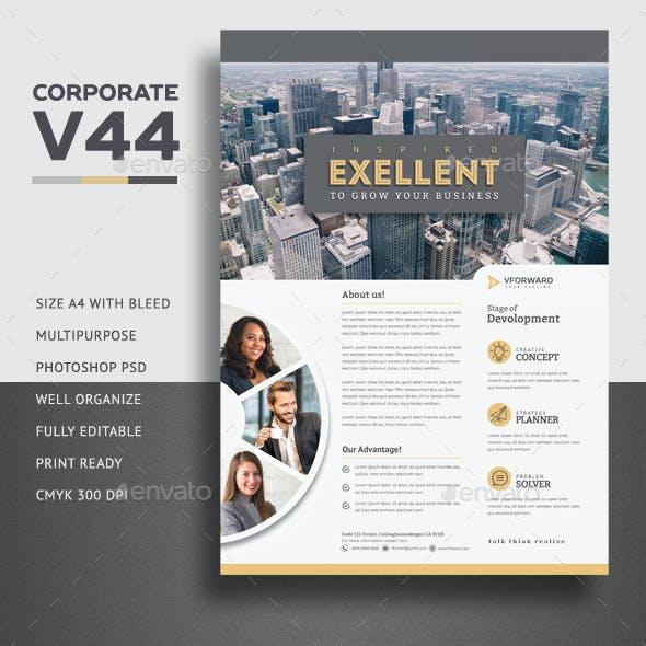 Corporate V44 Flyer