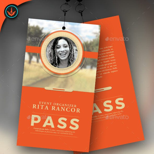Event Pass Template