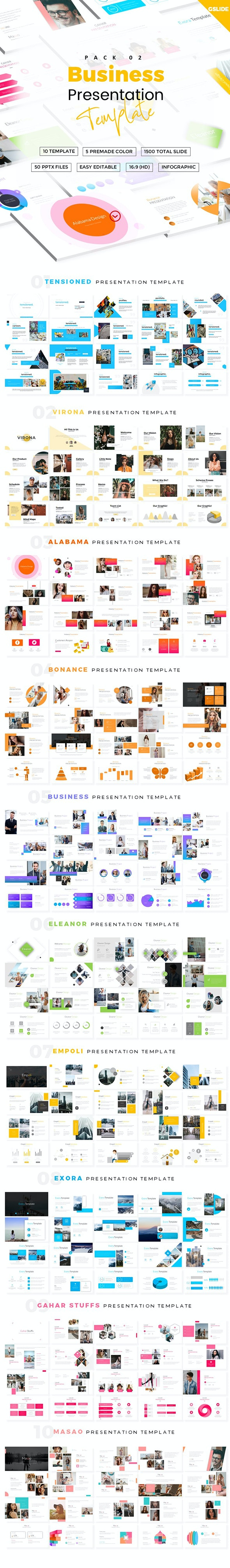 Business GoogleSlides Template Pack - Google Slides Presentation Templates