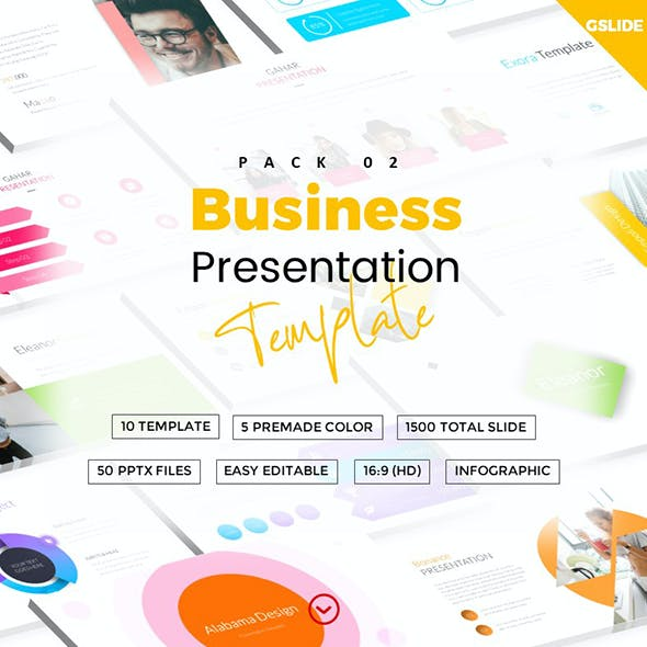 Book Template Presentation Templates from GraphicRiver