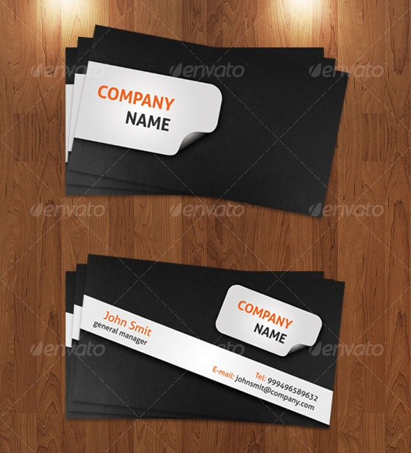 Modern Business Card Template - Creative Business Cards