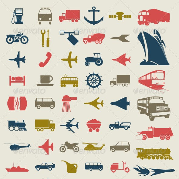Transport Icons4