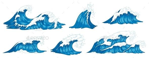 Ocean Waves - Landscapes Nature