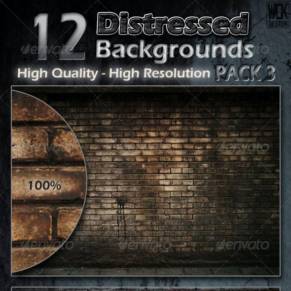 Distressed Background Textures Pack 3