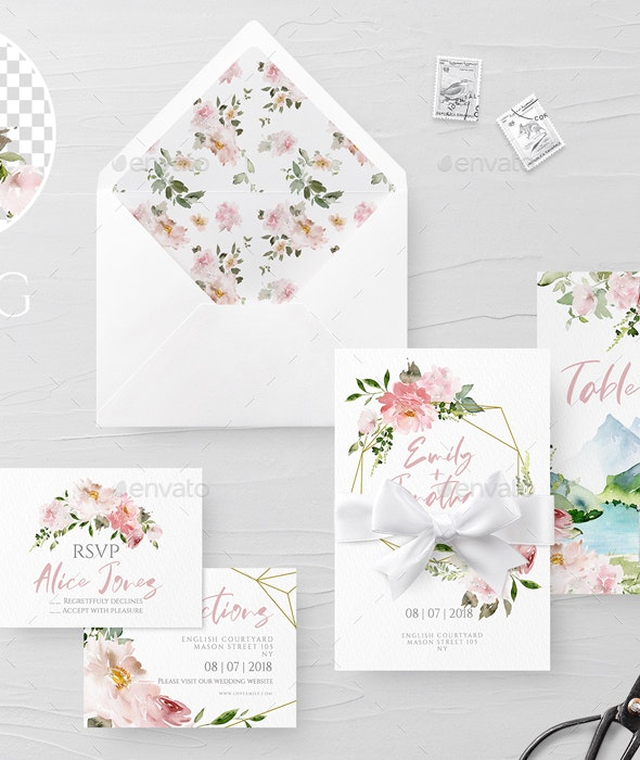 Wedding Set Italy - Graphics
