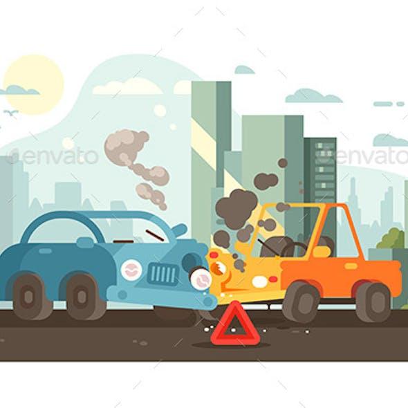Road Traffic Accident Scene