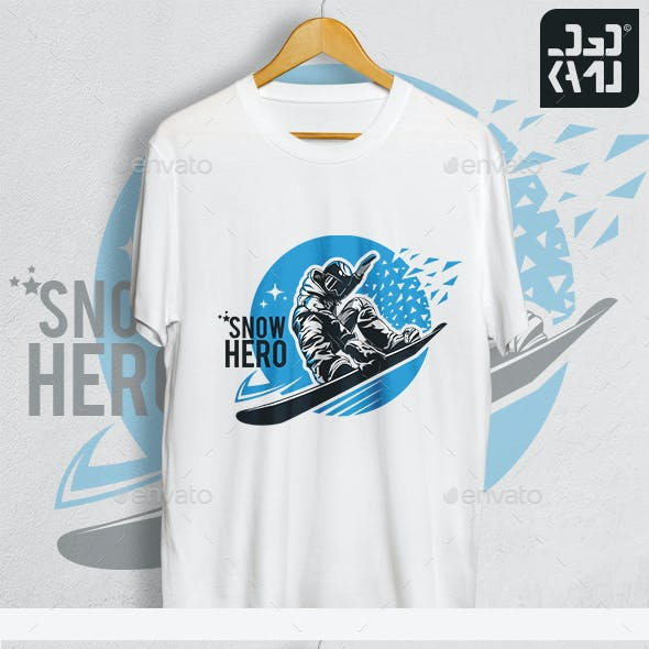 Snow Hero T-Shirt