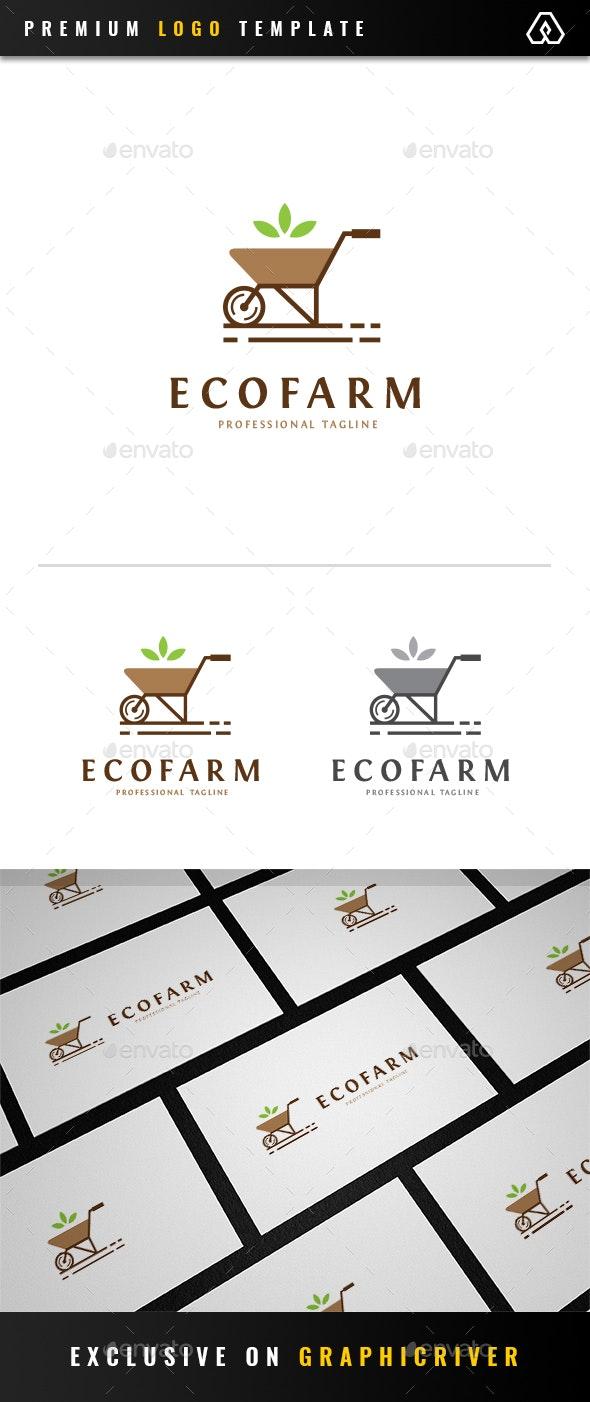 Eco Farm Logo - Objects Logo Templates